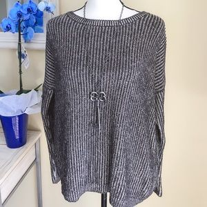 Forever 21 black knitted sweater - S